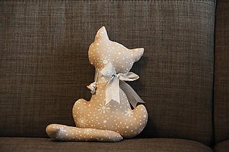 Dekorácie - Vianočná mačička - 10145325_