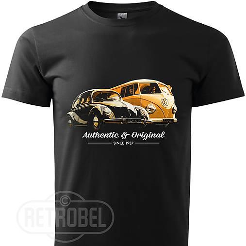 Pánske tričko retro Volkswagen Beetle (L)