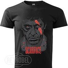 Tričká - Scarface-Tony Montana pánske tričko - 10143101_