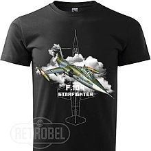 Tričká - Pánske letecké tričko Starfighter F-104 - 10144804_