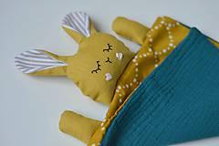 Hračky - zajko na spanie - 10143968_