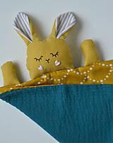 Hračky - zajko na spanie - 10143969_