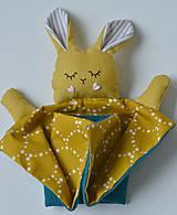 Hračky - zajko na spanie - 10143971_