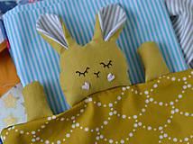 Hračky - zajko na spanie - 10143975_