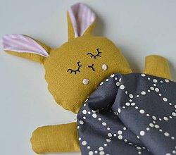 Hračky - Zajko na spanie - 10144902_