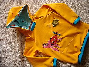 Detské oblečenie - Mikinka s morskými príšerami - 10143877_