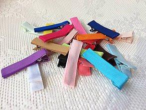 Komponenty - Farebné pinetky do vlasov - 10147176_