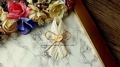 Pierka - Vintage smotanové pierka II. - 10145605_