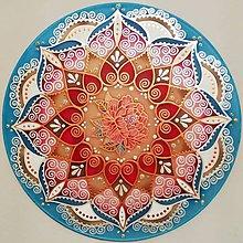 Dekorácie - Mandala lásky, nové partnerstvo - 10146456_