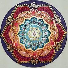 Dekorácie - Mandala zdravia a plameňa lásky - 10146522_