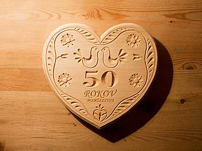 Darčeky pre svadobčanov - 50 rokov manželstva - 10146247_