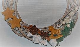 Dekorácie - Venček na dvere s koníkom - 10147892_
