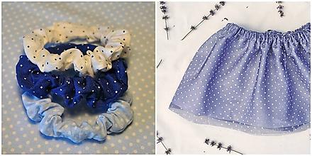 Detské oblečenie - Set suknička s gumičkami - 10147608_