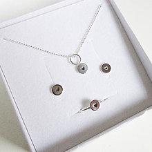Sady šperkov - Sketch_One :-) 6mm (SET Náušky+Prstienok+Prívesok (bez retiazky)) - 10145773_