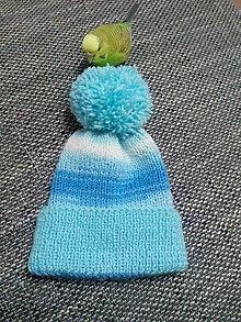 Detské čiapky - Brmbolcová - 10146382_