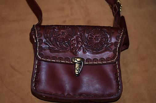 4d1b57e54 Kožená kabelka na rameno / horvatdesign - SAShE.sk - Handmade Kabelky