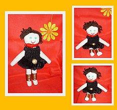 Hračky - Látková bábika - 10148068_