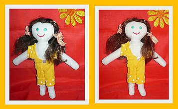 Hračky - Bábika z látky - 10148087_