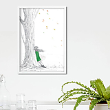 - Autumn, akvarel, kresba - 10143374_