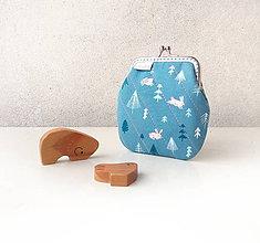 Peňaženky - Peňaženka Zajačiky a stromy - M - 10143058_