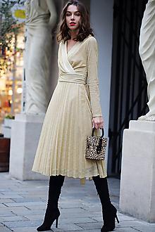 Šaty - Šaty zlatá hviezda - 10152172_