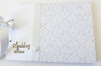 Papiernictvo - album na fotografie svadobný - 10148205_