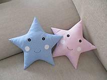 Textil - Vankúše hviezdy - 10151846_