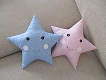 Textil - Vankúše hviezdy - 10151847_