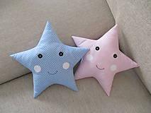 Textil - Vankúše hviezdy - 10151848_