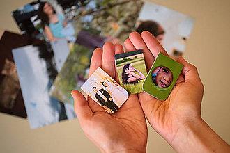 Papiernictvo - Magnetická záložka s Vašou fotografiou - 10148707_