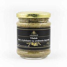 Potraviny - Med s bylinkami na uvoľnenie depresie - 10150032_