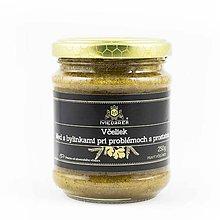 Potraviny - Med s bylinkami pri problémoch s prostatou - 10150039_