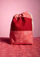 Taštičky - Kozmetická taštička Ruža - 10152220_