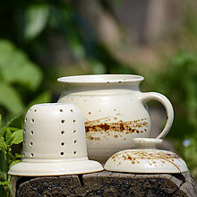 Nádoby - Univerzální hrnek Bylinka 750 ml - Vůně kávy - 10148695_