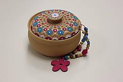 Náhrdelníky - Boho náhrdelník kvetinkový - 10150165_