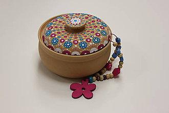 Krabičky - Ručne maľovaná šperkovnica - 10149503_