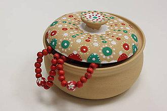 Krabičky - Ručne maľovaná šperkovnica - 10149703_
