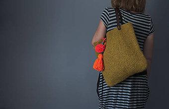 Veľké tašky - plstená taška