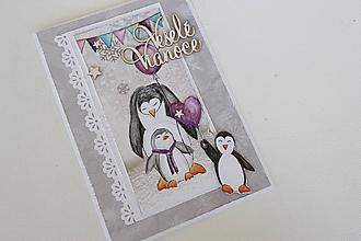 Papiernictvo - Vianočná pohľadnica - 10151534_