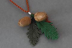 Náhrdelníky - Macramé náhrdelník - 10150545_