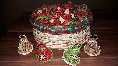 Dekorácie - Vianočné zvončeky - 10149059_