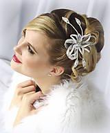 Ozdoby do vlasov - Svatební ozdoba Zina - 10148957_