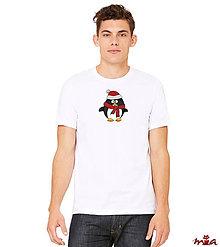 Oblečenie - Pánske tričko - Penguin (rodinné oblečenie) - 10148776_