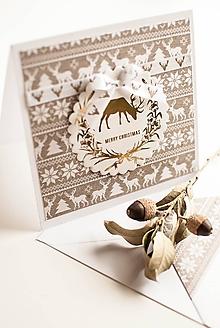 """Papiernictvo - Vianočná pohľadnica """"Scandinavia"""" - 10151353_"""