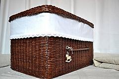 Košíky - Box kakaový ELIZABETH - 10149044_