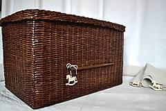 Košíky - Box kakaový ELIZABETH - 10149048_
