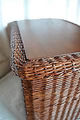 Košíky - Box kakaový ELIZABETH - 10149050_