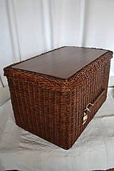 Košíky - Box kakaový ELIZABETH - 10149053_