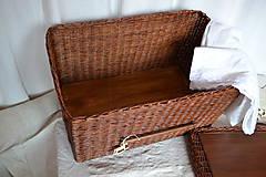 Košíky - Box kakaový ELIZABETH - 10149058_