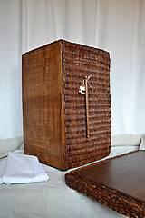Košíky - Box kakaový ELIZABETH - 10149060_